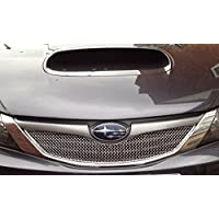 Subaru Impreza WRX 2008 MY- Top Grille - Silver finish (2008 onwards)