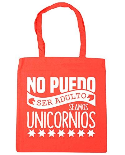 HippoWarehouse no puedo ser adulto seamos unicornios Bolso de Playa Bolsa Compra Con Asas para gimnasio 42cm x 38cm 10 litros capacidad