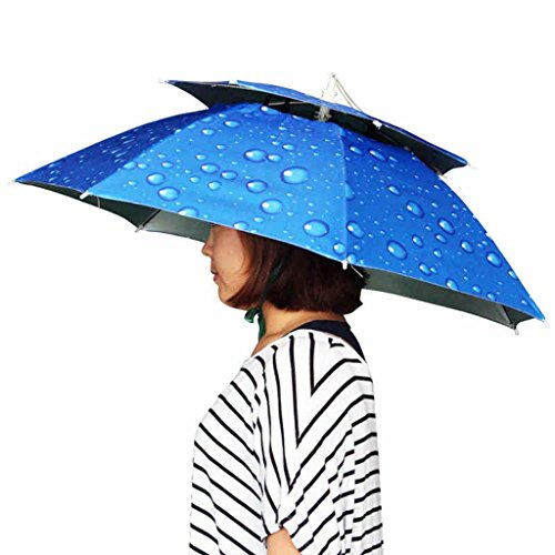 Fischerhut Angeln Regenschirm Hut Kopf Regenschirm Hut Fischerhut Klappliege Oxford Kind Sonnenhut