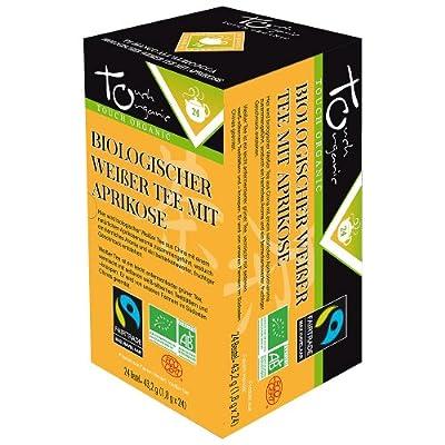 Touch Organic Bio Weißer Tee mit Aprikose (1 x 24 Btl) von Fileane SARL auf Gewürze Shop