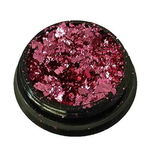 Nailart Chrom Pigment Mirrow Flakes pink 2g - Nails