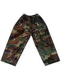 Adultes Camouflage / Camoflae Imperméable Veste / Pantalon - Pantalon, M/L