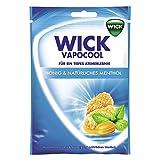 Wick Vapocool Honig & Natürliches Menthol inkl. Zucker, 20er Pack (20 x 72 g)
