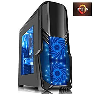 AMD Athlon X4 860 K Quad-Core 3.7 GHz CPU, Nvidia GTX 960 2 Go DDR5 Graphics Card, HDMI, USB3.0, 16 Go 1600 MHz DDR3 RAM, 1TB Hard Drive, DVDRW, Vantage Blue Gaming PC Case, Windows 10