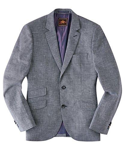 Joe Browns Herren Eleganter Blazer aus Leinen-Mischung Grau 50 (Leinen-mischung-jacke)