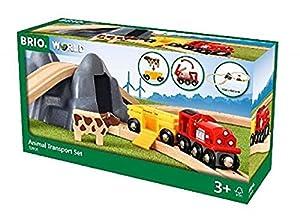 Brio 33906 33906 - Juego de túneles de Ocho vías con Coche de Vaca