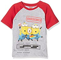 Universal Boy's 19-1763 TC T-Shirt, Grey (L Grey), 4 years (Manufacturer size: 104 cm)