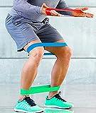ZAIQUN Resistance Loop Bands,Set of 4 Premium Exercise Bands for Yoga,Pilates