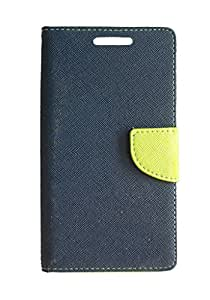 Vikreta Flip Cover For Sony xperia T2 - Blue