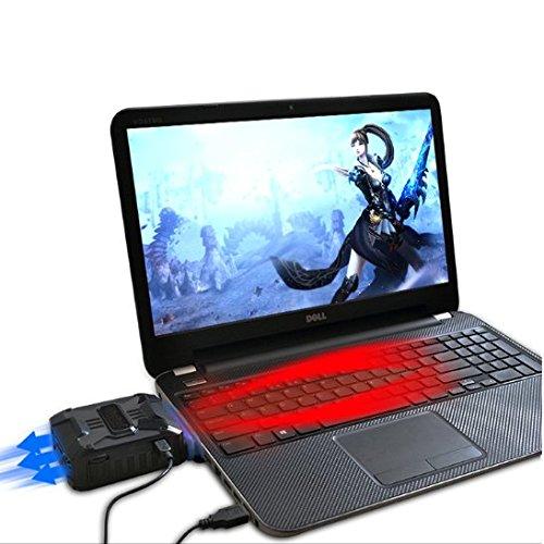 Mondpalast @ Laptop Kühler USB Air Extrahierung Vakuum-Lüfter CPU-Kühler für Notebook - 4