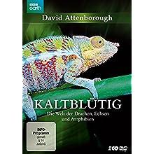 Coverbild: David Attenborough: Kaltblütig - Die Welt der Drachen, Echsen und Amphibien