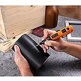 Mini Amoladora, TACKLIFE-PCG01B-3.7V Amoladora Electrónica DC, Herramienta Rotativa USB Recargable con 31 pcs Accesorios para los DIY Trabajos de Pulir
