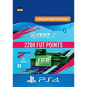 FIFA 19 Ultimate Team – 2200 FIFA Points | PS4 Download Code – deutsches Konto