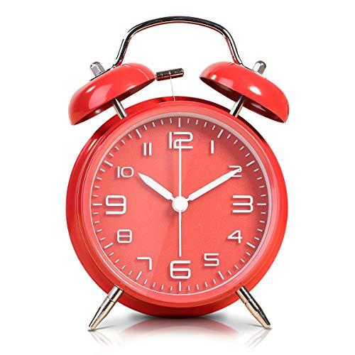 LATEC Reloj Despertador Doble Campana luz Nocturna