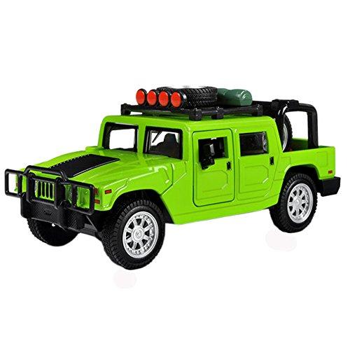 Kids Cool Mini alliage modèles de voitures hors route, Green (15*6*6.5 Cm)