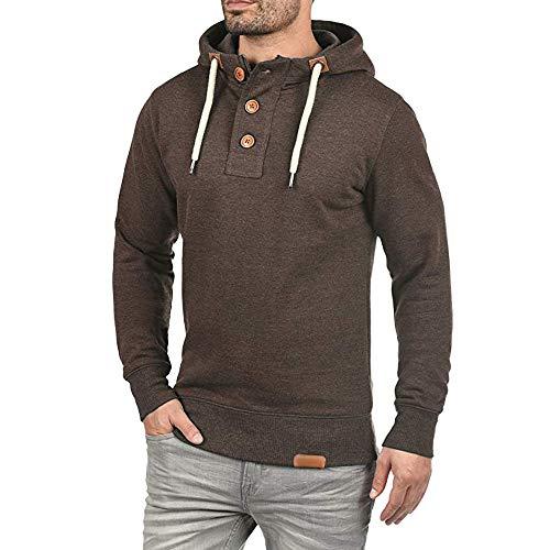 HUIHUI Winterjacke Herren Winter Mantel Slim fit kurz Jacket Plus Size (Braun,M) - Size Plus Herren-winter-mäntel