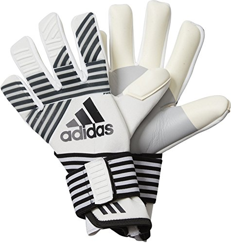 Ace-baumwolle Handschuhe (adidas Erwachsene Ace Trans Pro Torwarthandschuhe, Clear Onix/Core Black/Onix/White, 8.5)
