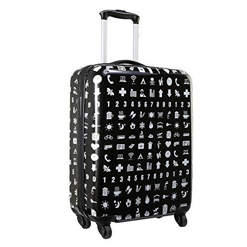 Cabin Max Icon 2.0 Handgepäck Koffer Hartschale 55 x 40 x 20cm (Übersetzen) (Cabin Spinner)