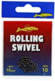 Dinsmores Rolling Swivels, Unisex, Rolling, Negro