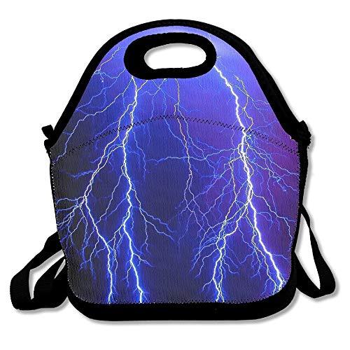huiaibaihuidian Zehn Kardinäle in den Birken Bequeme Mittagessen-Taschen-Tasche für Reise-Schulpicknick-Einkaufstüten Picknicktasche im Freien -
