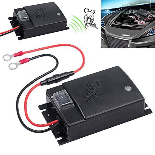 Rokoo Ultraschall-Vertreiber für Ratten, Autos, 12 V, 24 V - Ratte Abschreckung