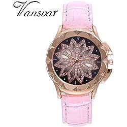 Coconano Relojes Mujer Baratos, Reloj Simple Para Mujer Relojes Moda Mesa Moda Chica Reloj de Cuarzo Reloj Femenino