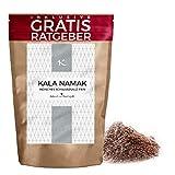 200 g de Kala Namak Fina | Sal Negra de la India | Sal del Himalaya | Rica combinación con frutas |...