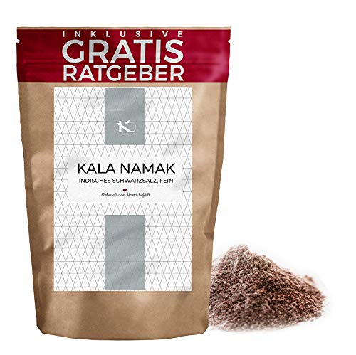 200 g Kala Namak Fina   Sal Negra India   Sal Himalaya