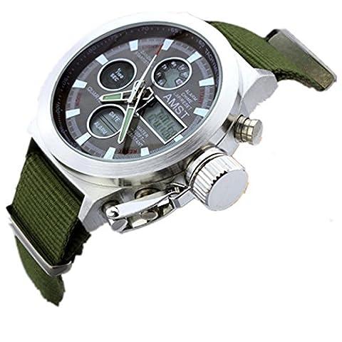 Sport Armbanduhren Herren, Wasserdicht Sportuhren,Uhren für Sommer Urlaub Strand Sport