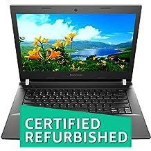 (CERTIFIED REFURBISHED) Lenovo E40 80 14-inch Laptop (I3-5010U/4GB/500GB/Window 10/Integrated Graphics), Black