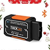 [Christmas Deals]OBD2 Scanner,Tacklife Bluetooth OBD2 Diagnostic real-time scanning Tool,AOBD1B Auto Code Scanner,OBD-II Engine