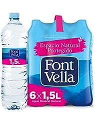 Font Vella Agua Mineral Natural - Pack 6 x 1,5L