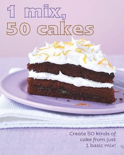 1=50!: 1 Mix 50 Cakes - Love Food