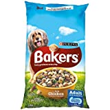 Bakers Complete Dry Dog Food with Tasty Chicken and Country Vegetables, 14kg