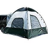 RDGDSGED 4 Personen Zelt LKW Zelt Outdoor Wasserdicht Regen Wasserdicht Staubdicht Zweischichtige Stangen Kuppelzelt> 3000 mm für Camping/Wandern PU Leder/Polyurethan Leder Oxford Tuch Oxford Stoff