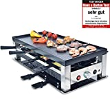 Solis Grill 5 in 1, Raclette/ Tischgrill/ Wok/ Crêpes/Pizza