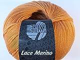 LANA GROSSA LACE Merino, 56 - Apricot