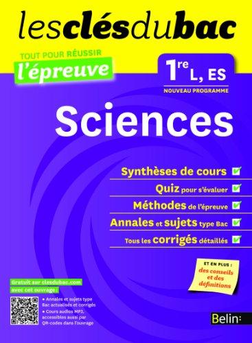 Cls du Bac - Sciences 1e L ES - Russir l'preuve par Collectif