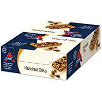 Atkins DB Hazelnut Crisp Individual Barritas - Paquete de 15 barritas x 37 gr - Total: 555 gr
