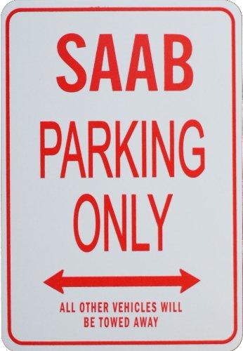 signes-de-stationnement-saab-saab-parking-only-sign