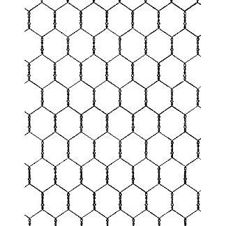 """4wire Chicken Wire Twin Pack 900x25x50meters 22G, 100 Meters of Wire Netting 3ft Tall 1"""" Holes 14"""