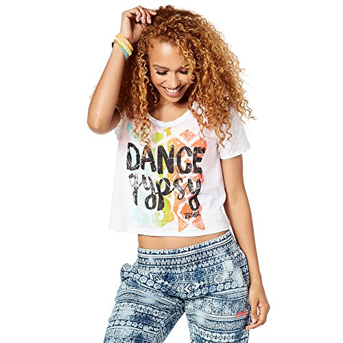 Zumba Fitness Damen Dance Gypsy Tee Frauentops, Wear It Out White, XL Preisvergleich
