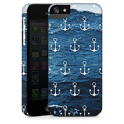 Apple iPhone 6s Plus Hülle Case Handyhülle Anker Meer Sommer Premium Case StandUp
