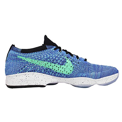Nike Wmns Flyknit Zoom agilità, tennis donna game royal green glow black 401