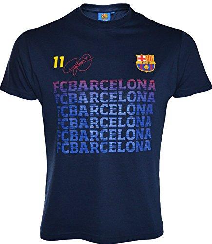 Kinder-T-Shirt Barça–Neymar Jr., offizielle Kollektion des FC Barcelona 8 Jahre marineblau