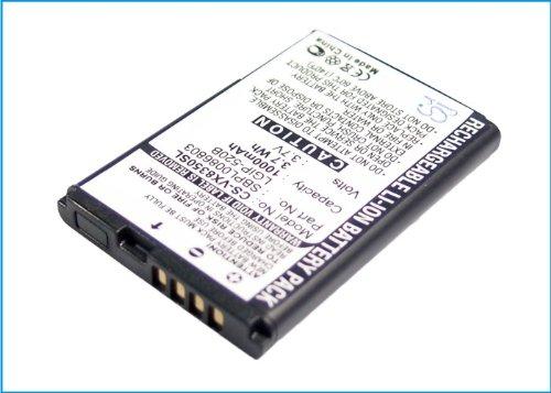 CS-VX8350SL Akku 800mAh Kompatibel mit [LG] AX310, Helix, LN180, LX400, MN180, MT310, Select, UX310, VX5200, VX5400, VX5500, VX8350, VX8360, [METROPCS] MN180, Select Ersetzt LGIP-320R, LGIP-520B, SBP Lg Vx5400
