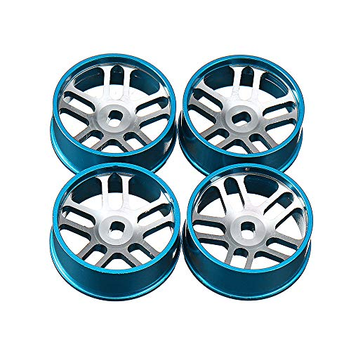 VIDOO 4Pcs Metal Hub Rc Car Wheel 1/28 Für K989 Und Iw04M Rc Car