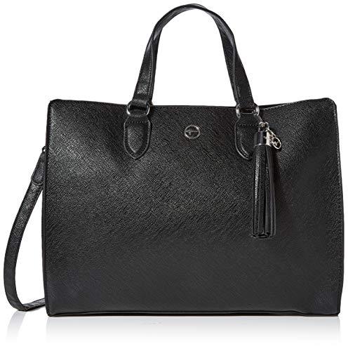 Tamaris Damen Mabou Business Tasche, Schwarz (Black), 16x40x37 cm