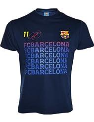 T-shirt Barça - Neymar Jr - Collection officielle FC BARCELONE - Taille enfant garçon