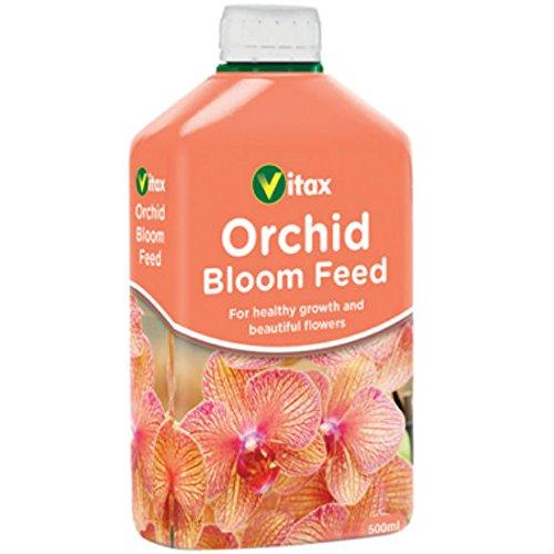 Vitax-Orchid Bloom Aliment concentré 500 ml-Liquide pour orchidée orchidée Engrais concentré Plantes des aliments pour animaux